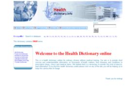 healthdictionary.info
