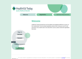 healthedtoday.ecollege.com