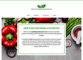 healthherbsandnutrition.com