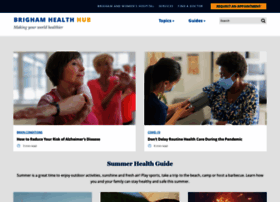 healthhub.brighamandwomens.org