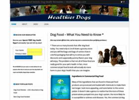 healthierdogs.com