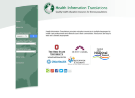 healthinfotranslations.org
