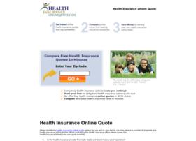 Healthinsuranceonlinequote.com