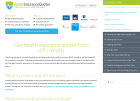 healthinsurancequotes.co.uk