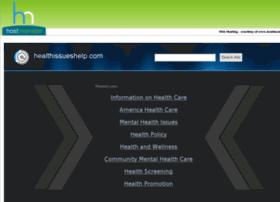 healthissueshelp.com