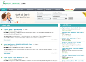 healthjobsindia.com