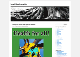 healthjusticeradio.wordpress.com
