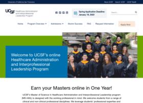 healthleadership.ucsf.edu