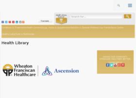 healthlibrary.mywheaton.org