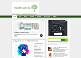 healthliveblog.org