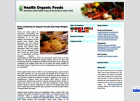 healthorganicfoods.com