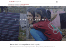 healthpolicy.stanford.edu