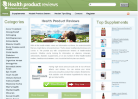 healthproductreviews.com