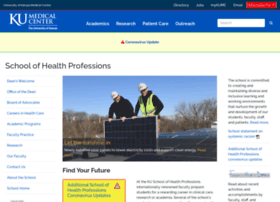 healthprofessions.kumc.edu