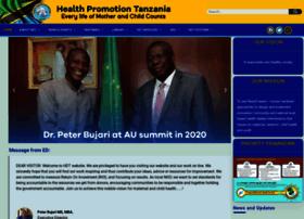 healthpromotiontanzania.org