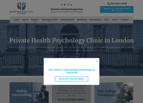 healthpsychologylondon.co.uk