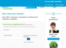 healthquote2-supp.healthmarkets.com