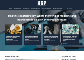 healthresearchpolicy.org