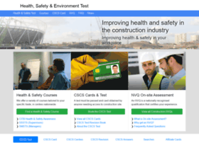 healthsafetytest.co.uk