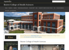 healthsciences.appstate.edu