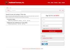 healthstaffservices.applicantpro.com