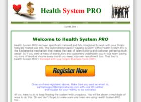 healthsystempro.com
