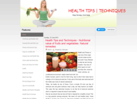 healthtipandtechnics.blogspot.in