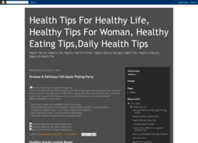 healthtipsforhealthylife.blogspot.in