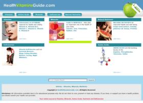 healthvitaminsguide.com
