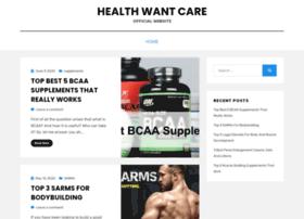 healthwantcare.com