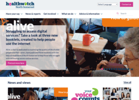 healthwatchnorthsomerset.co.uk