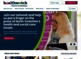 healthwatchnorthyorkshire.co.uk