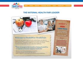 healthwisehealthfairs.com