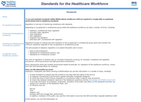 healthworkerstandards.scot.nhs.uk