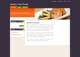 healthyfoodguide.webnode.com