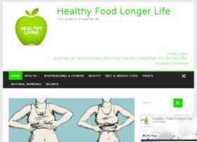 healthyfoodlongerlife.com
