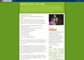 healthygreenonthecheap.blogspot.com