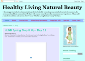 healthylivingnaturalbeauty.blogspot.com