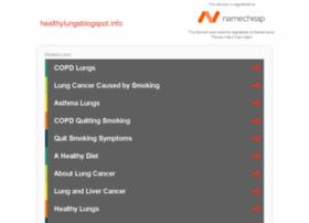 healthylungsblogspot.info