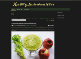 healthynutritionfood.webs.com