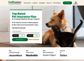 healthypawspetinsurance.com
