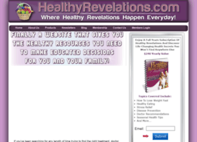 healthyrevelations.com