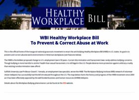 healthyworkplacebill.org