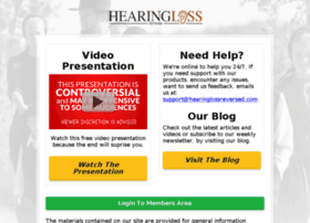 hearinglossreversed.com