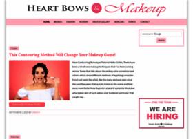 heartbowsmakeup.com
