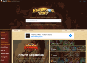 hearthstone.gamepedia.com