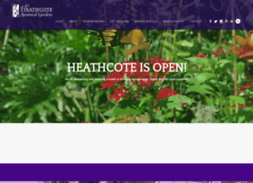 heathcotebotanicalgardens.org