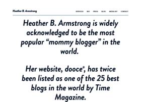 heatherbarmstrong.com