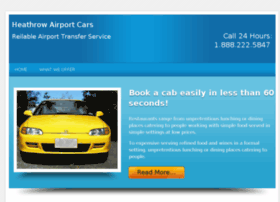 heathrowairportscars.com