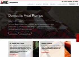 heating.mitsubishielectric.co.uk